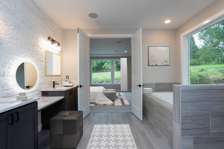 Adair Homes Master Suite Master Bath
