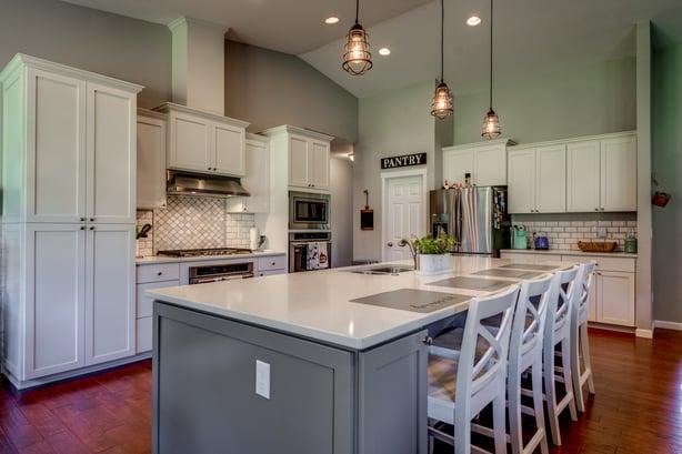 cashmere open concept kitchen