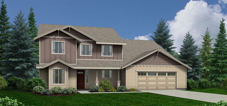 Ashland Custom Home Floor Plan Over 3000 Squre